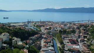Attēls no Trsat. city sea castle port croatia adriatic rijeka trsat hvartska