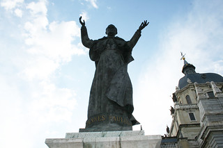 Catedral de la Almudena 마드리드 근처 의 이미지.
