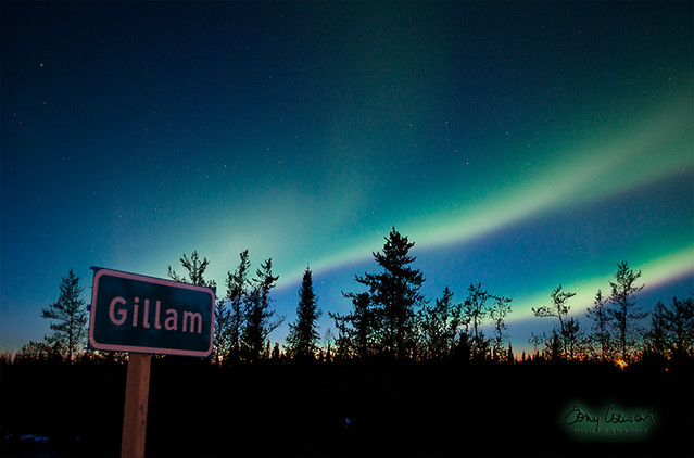 Town of Lights (Gillam Sign)