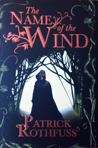 "Bought ""The Name of the Wind"" by Patrick Rothfuss on a recommendation from @bjorns."