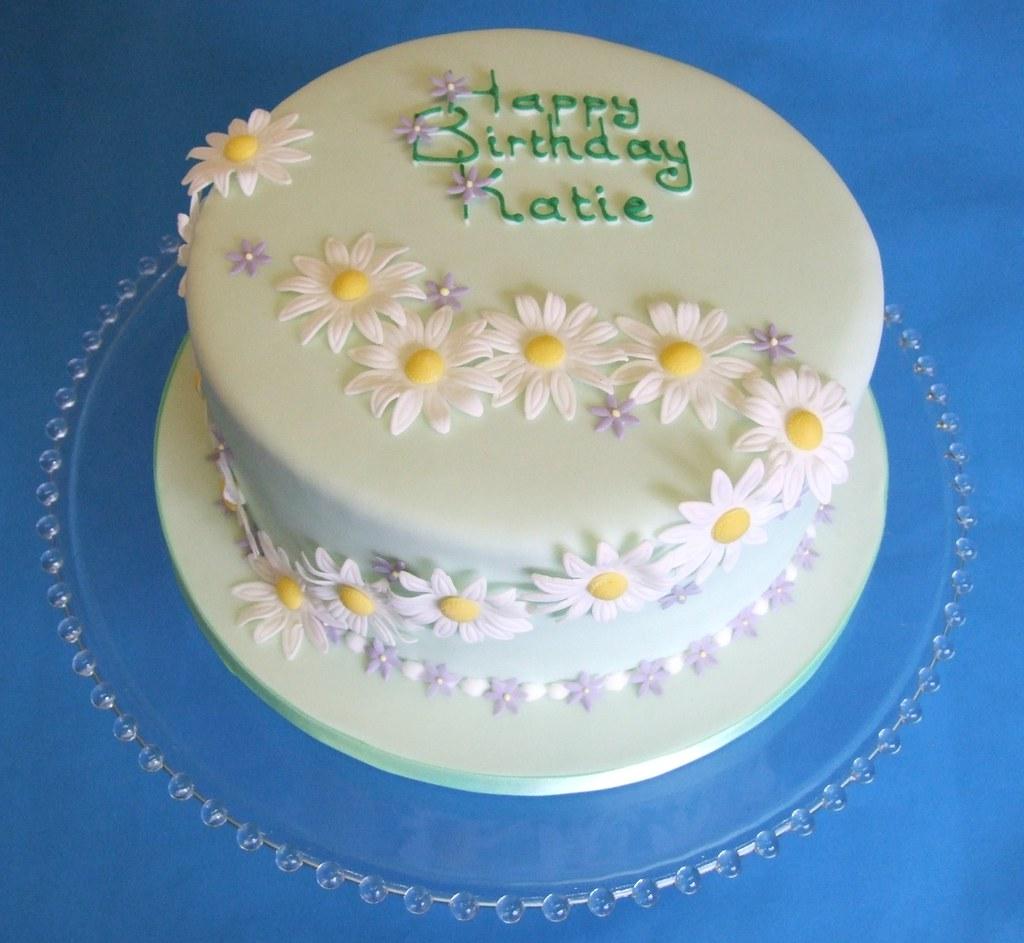 Daisy Birthday Cake A Photo On Flickriver