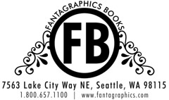Fantagraphics Books logo - FB circle letterhead