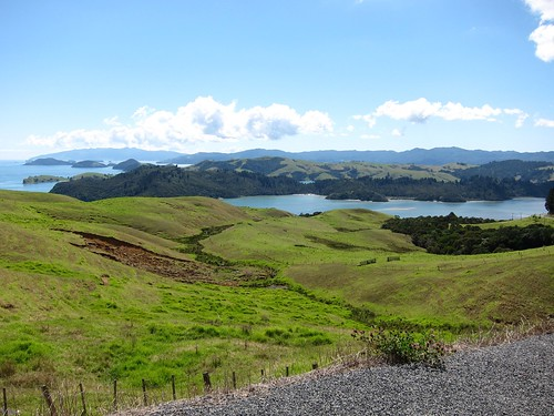 View of Coromandel peninsula.