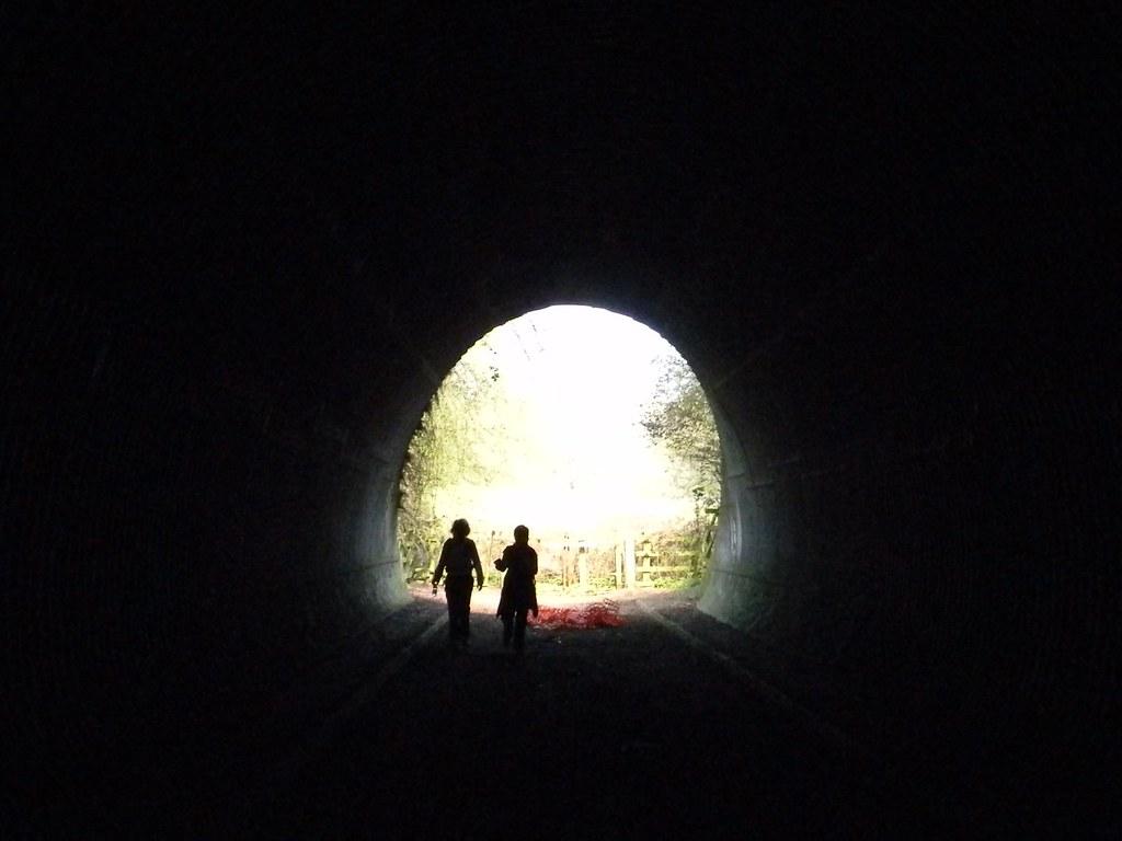 Through the tunnel Sevenoaks to Westerham