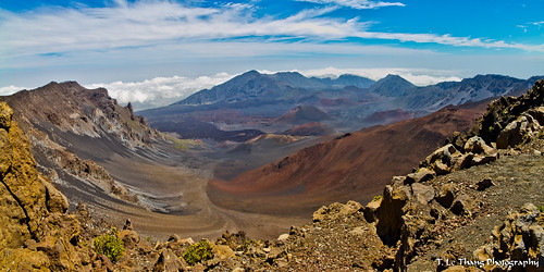Haleakala Volcano, Maui Island, Hawaii