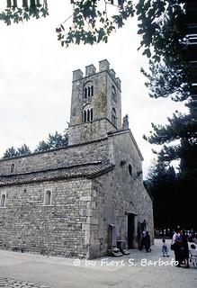 Roccavivara (CB), 1985, Badia di Santa Maria di Canneto.