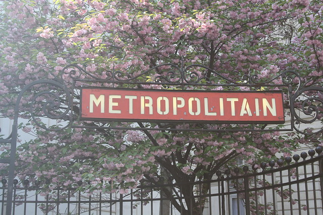Metropolitain St. Georges - Paris 9e from Flickr via Wylio