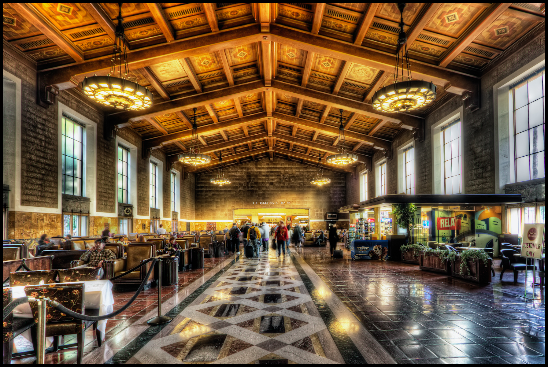 Los angeles union station flickr photo sharing for Designers art of california