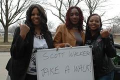 Scott Walker: take a walk!