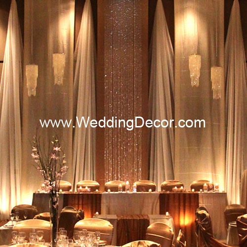 Wedding backdrop champagne ivory flickr photo sharing for Backdrops wedding decoration
