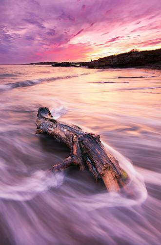 sunset beach elizabeth cove maine crescent kettle cape