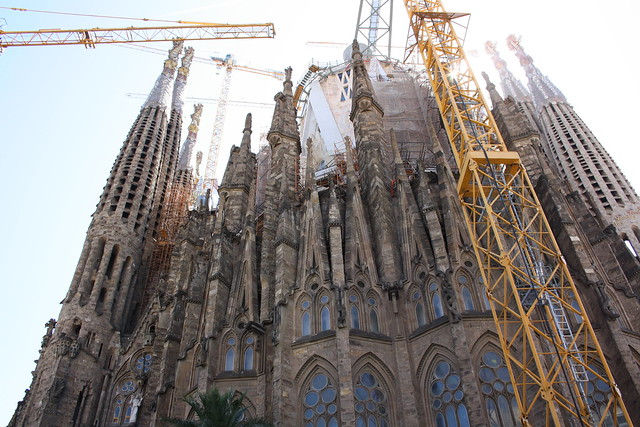 La Sagrada Familias, Barcelona