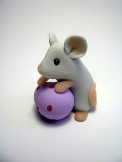 Easter Mouse - Lilac Egg