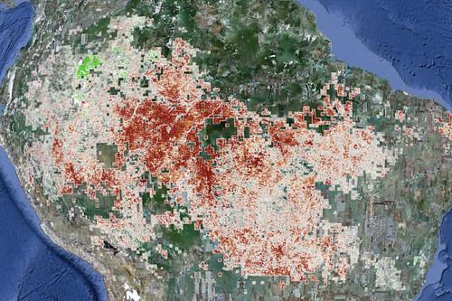 NASA image reveals extent of 2010 Amazon drought