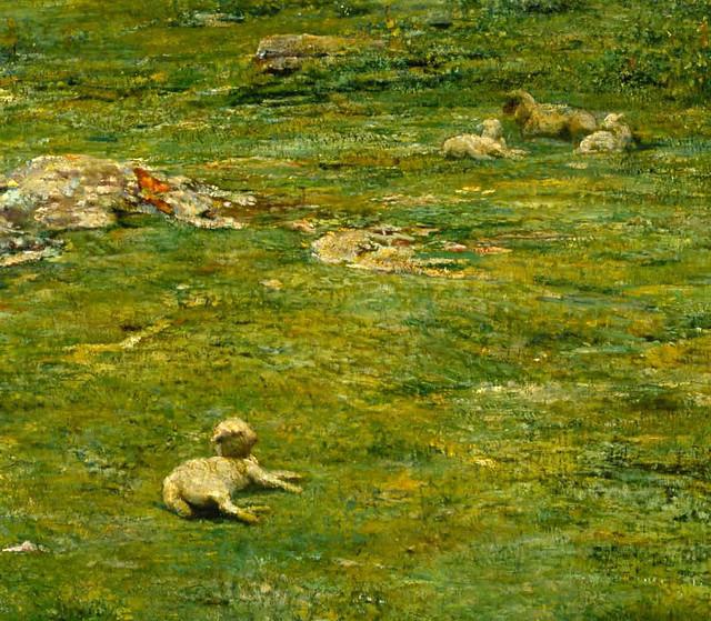 La Farge, John 'Paradise Valley' (detail) 1866-68