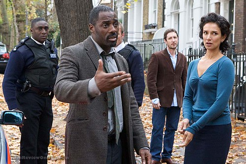 Luther - Idris Elba and Indira Varma