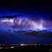 Cloud to Cloud Lightning Bursting Out Boulder County Colorado