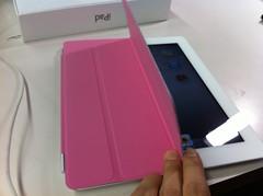 iPad2 Smart Cover 風呂蓋 ピンク