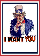 Uncle Sam I Want You - Poster