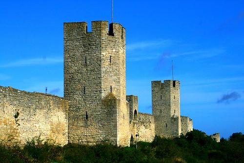 2009 09 24 Visby, Gotland, Sweden Medieval Rampart Travel With Olga