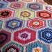 Ruby Hexagon Blanket