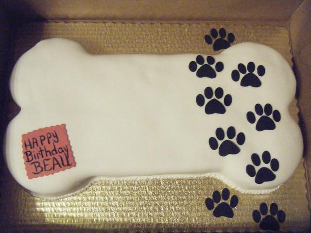 dog bone cakes