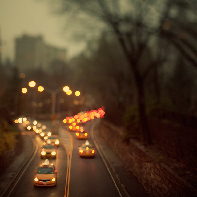 Taxicab confessions - Beautiful Bokeh Photography