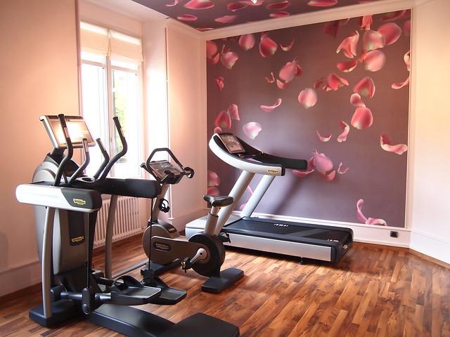 Fitness / Exercise room Hotel de la Paix