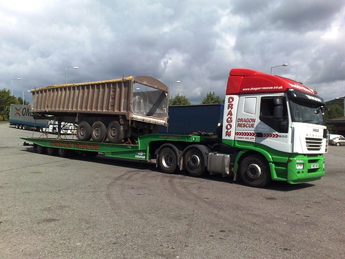 Dragon Rescue Low Loadering Tipper Trailer