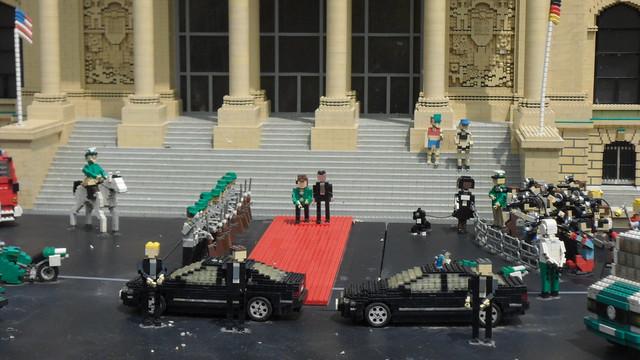 Lego Merkel & Obama
