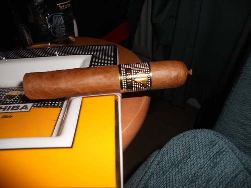 The Cohiba Behike 52 resting