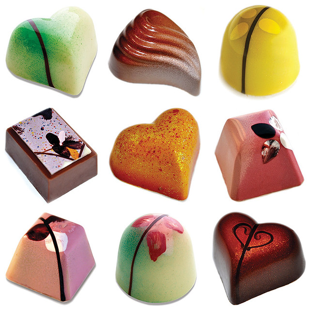 Hand Painted Artisan Chocolates