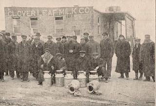 Milk Shippers on Strike