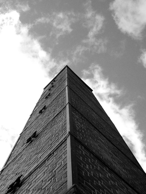 crematorium smoke stack | Buchenwald concentration camp ...