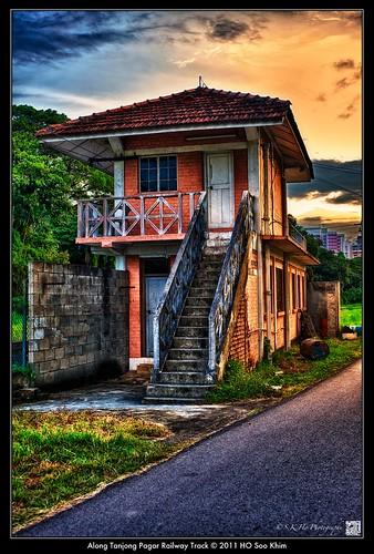 sunset architecture nikon singapore 建筑 日落 hdr 新加坡 tanjongpagar perfectbeauty d700 nikond700 攝影發燒友 beautyandart 丹戎巴葛火车总站 worldhdr 美和藝術