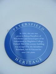 Photo of Blue plaque № 10709
