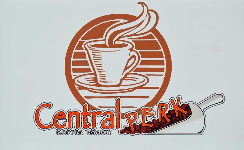 Central Perk sign