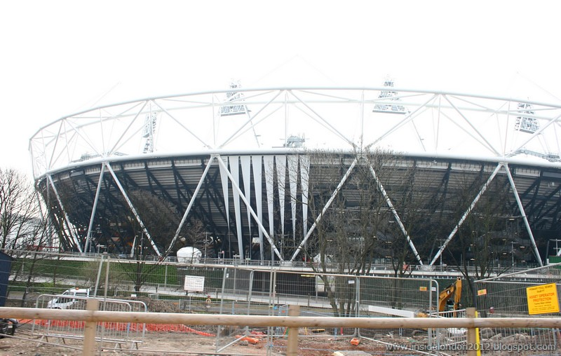 New Wrap on The Stadium - Around the London 2012 Olympic Park - 22nd March 2011 No 2