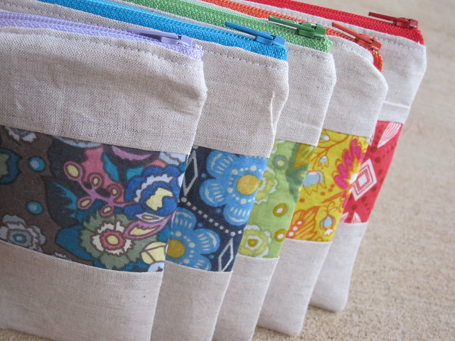 AMH zippy pouches