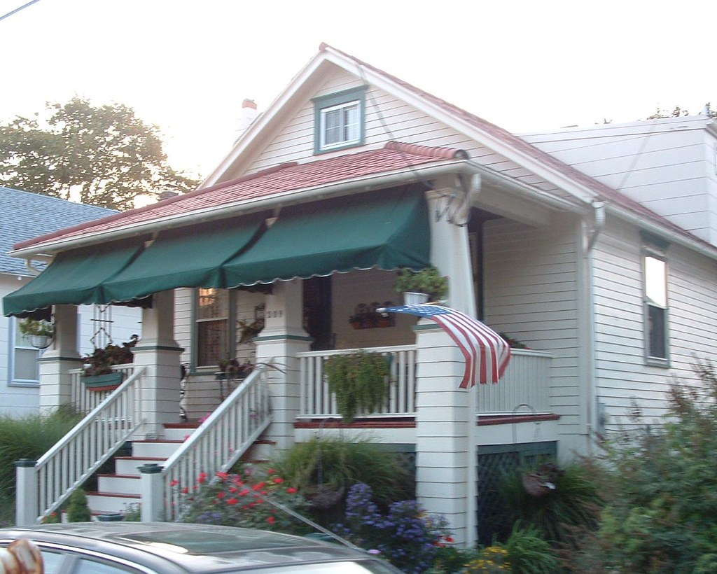 Porch With Awnings