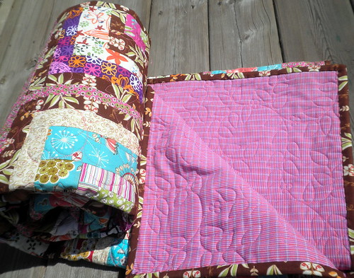 Boxed IN Quilt - COMPLETE!