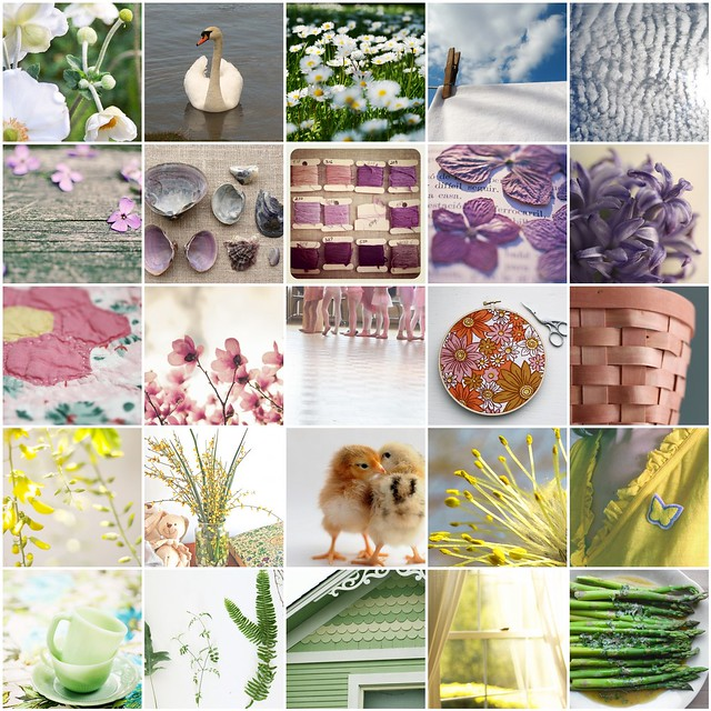 A few of my favourites from Poppytalk's Spring colours week 2011 | Emma Lamb