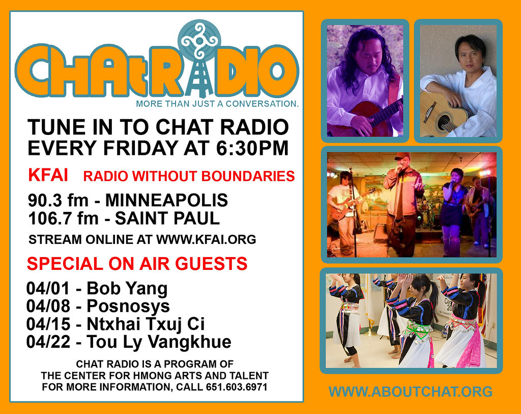CHAT RADIO APRIL 2011