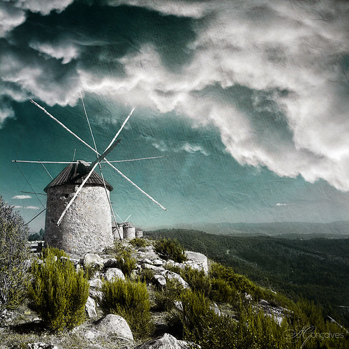 Moinhos de vento (II) by Transmontano