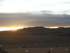 Il tramonto del nord
