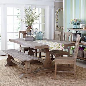 provence table drea wood. Black Bedroom Furniture Sets. Home Design Ideas