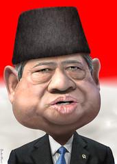 Susilo Bambang Yudhoyono - Caricature