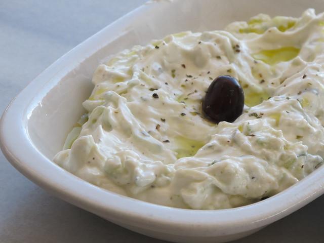 Tzatziki comida grega nos EUA