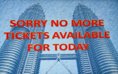 No tickets available for today