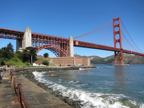 San Francisco, Golden Gate Bridge, Fort Point IMG_5613